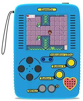 seeed studio GameGo Handheld Game Console, programmable Retro Game Console Supports Microsoft MakeCode, Both for Block Programming and Javascript, Suitable for STEM Education, Code Your own Games