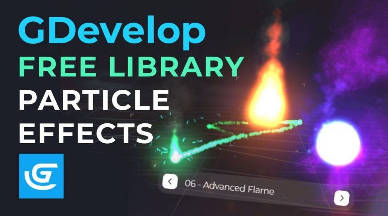 GDevelop - Particle Effects Library - Download for Free