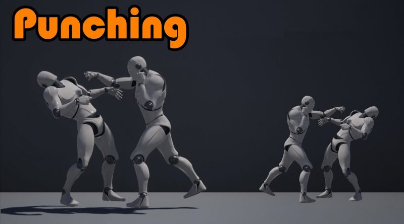 How To Punch An AI With Reaction Animations - Unreal Engine 4 Tutorial