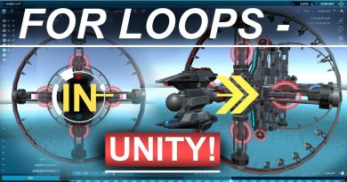 Unity 3D : For Loops & Arrays Tutorial- (In 2 Minutes!!)