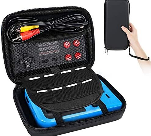 VOUM Handheld Game Machine Portable Retro Game Console Protection Bag Protective Storage Bag Waterproof, Drop, Dustproof Game Machine Storage Suitcase(Not Include The Handheld Game Console )