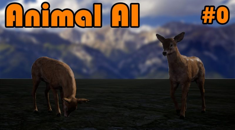 Project Trailer | How To Create An Animal AI In Unreal Engine 4 - Part 0