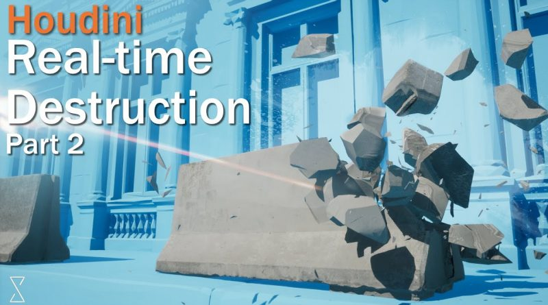 Real-time destruction with Houdini and Unreal || Tutorial Part 02