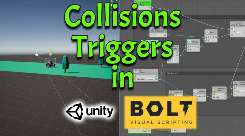 Unity-Bolt Part 3: Add Collision Triggers - Getting Started with Bolt Tutorial - Bolt Super Units