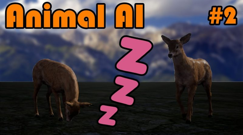 Letting The Animal Rest Or Sleep | Part 2 Of Creating An Animal AI In Unreal Engine 4