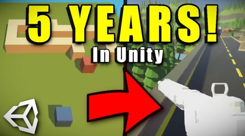 5 Years of Making Games in Unity!