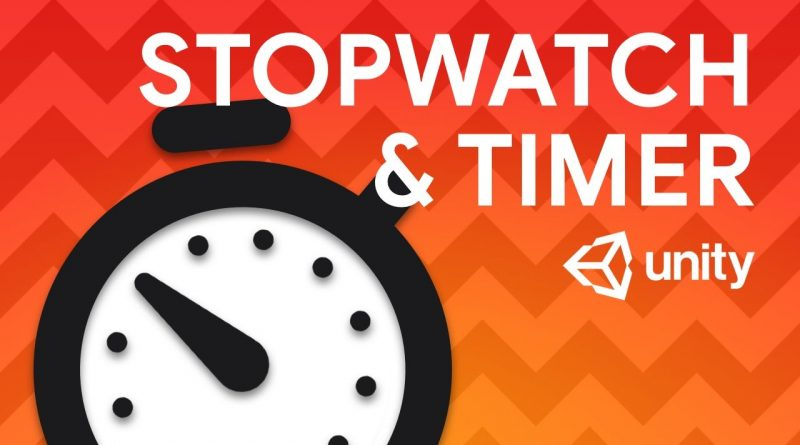 Create TIMER and STOPWATCH in your game! - Unity tutorial