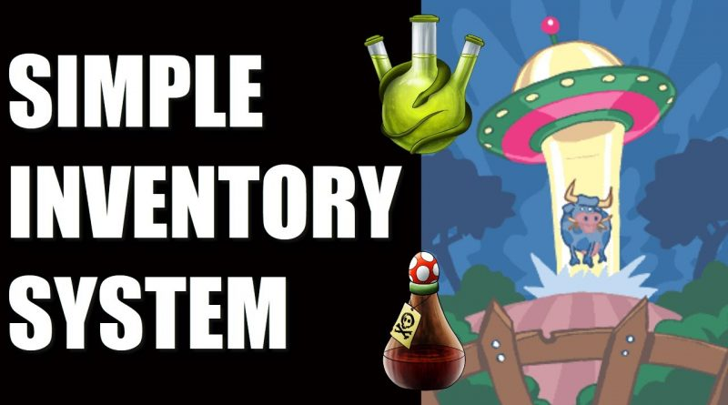 SIMPLE INVENTORY SYSTEM TEMPLATE In Gdevelop