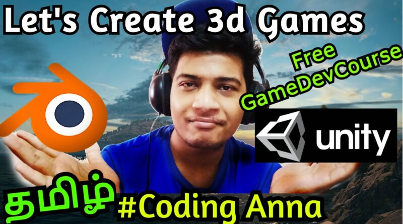 Let's Learn to make 3d games || Unity and Blender Tutorials || #CodingAnna