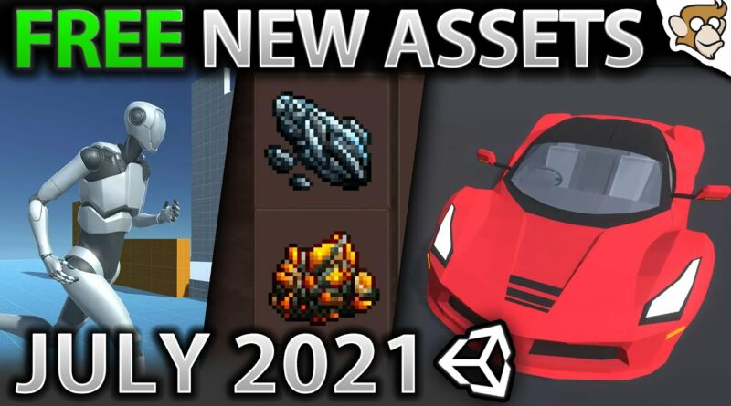 TOP 10 FREE NEW Assets JULY 2021! | Unity Asset Store