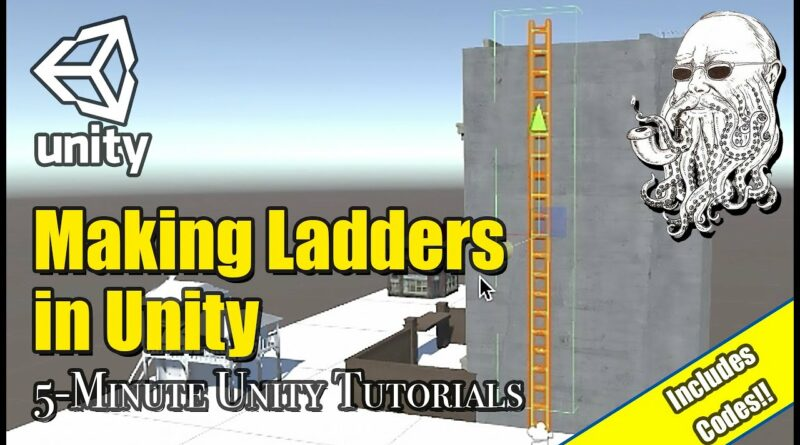 How to Make Simple Ladders in Unity | 5 Minute Unity Tutorials