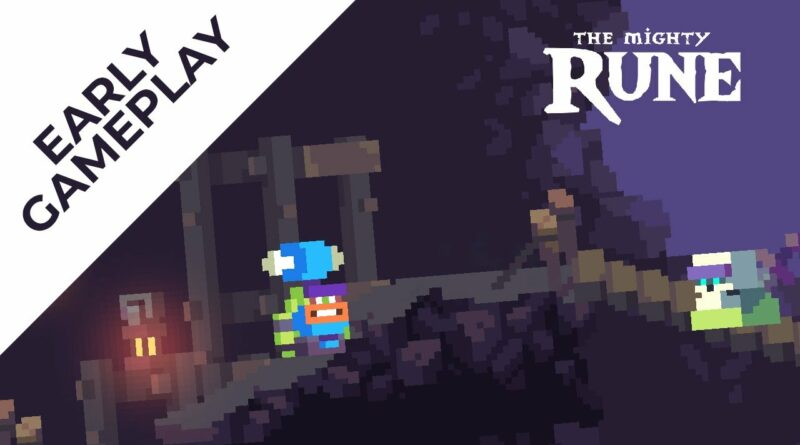 The Mighty Rune (Indie Pixelart Game) - Game Play - Made with GDevelop
