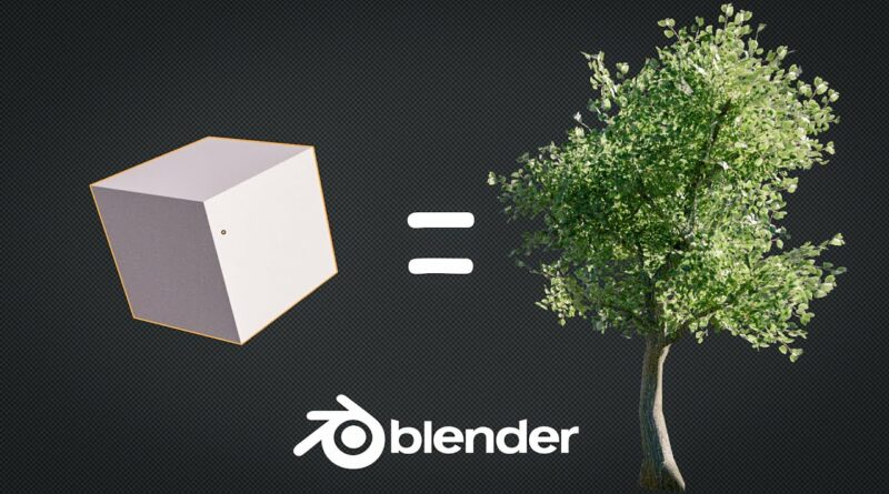 How to Create a Low Poly Tree in 1 Minute