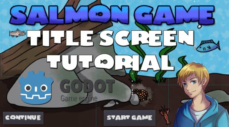 Godot Tutorial - How to Make A Title Screen - New Project