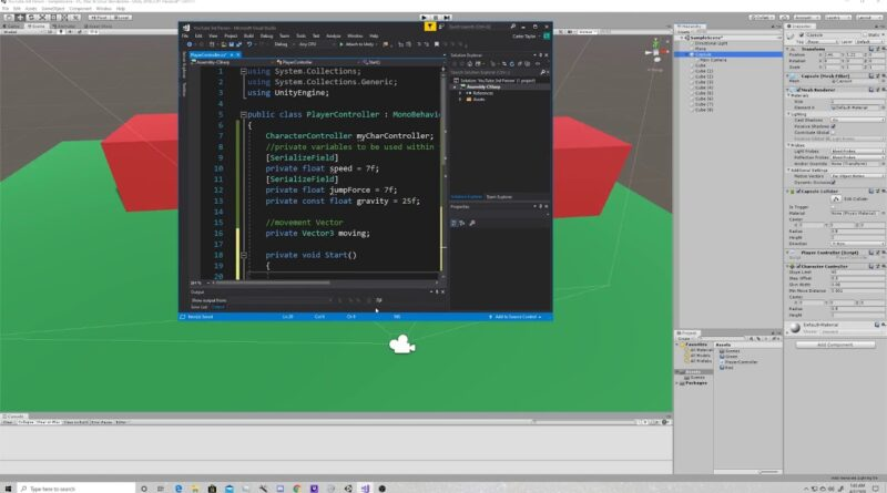 Super Easy 3D Character Controller | Unity Tutorial | 3rd Person Shooter