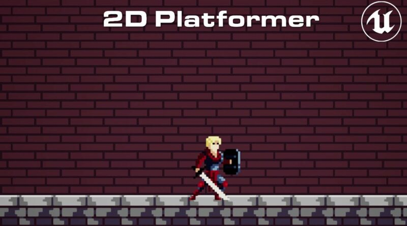 How To Make A 2D Platformer In Unreal Engine 4 In 8 Minutes