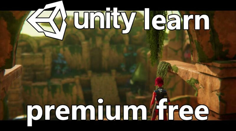 Unity Learn Premium For Free!  (Useful to non-Unity Devs Too)