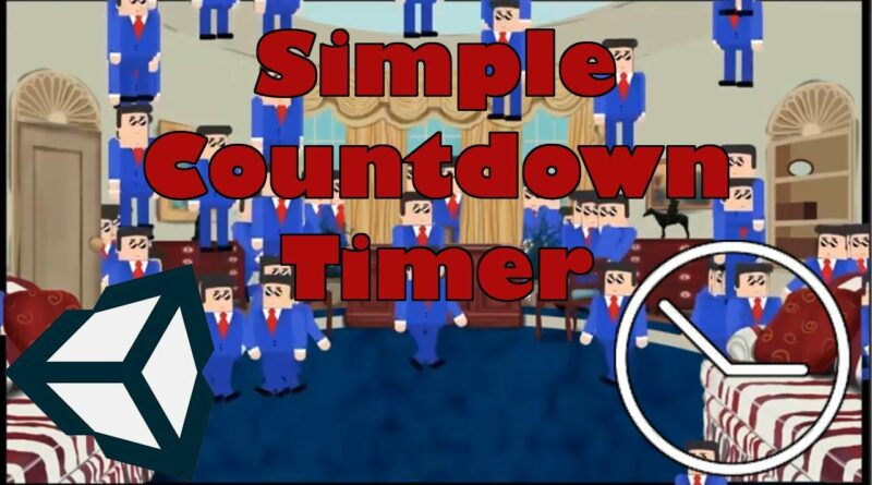 Unity Tutorial - Scripting a Simple Countdown Timer