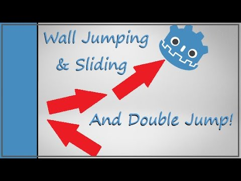 The logic of Wall Sliding/Jumping and The Double Jump - Godot Tutorial - Now You Know Too
