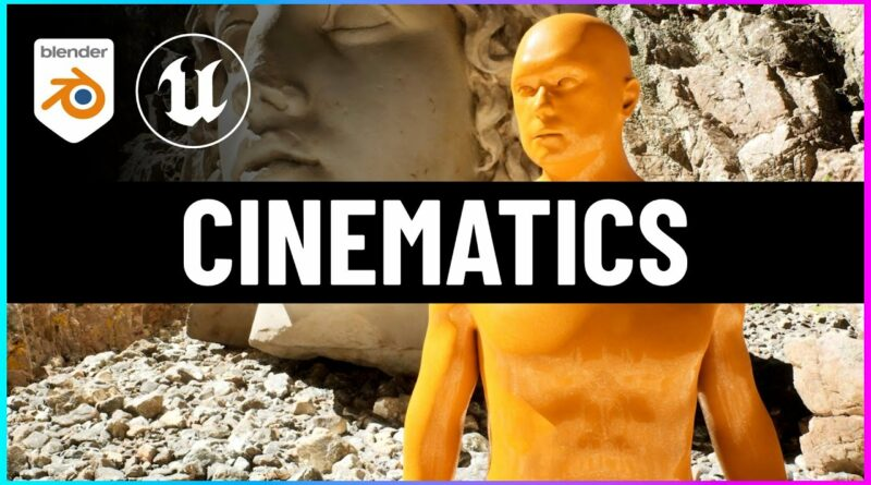 How to Make a Cinematic with Unreal Engine 5 and Blender!