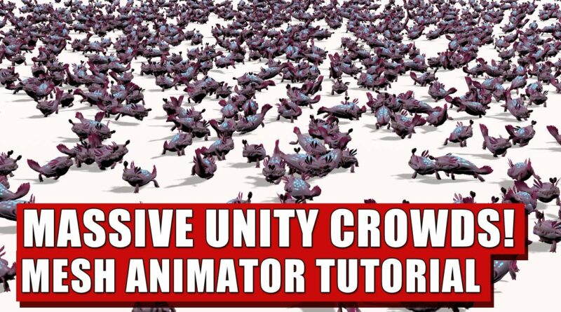 Mesh Animator Conversion Tutorial - Increase Unity performance instantly!