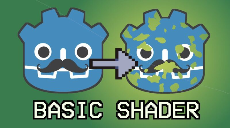 How to use SHADER 2d in Godot 3? Dissolve tutorial + nice shaders resource