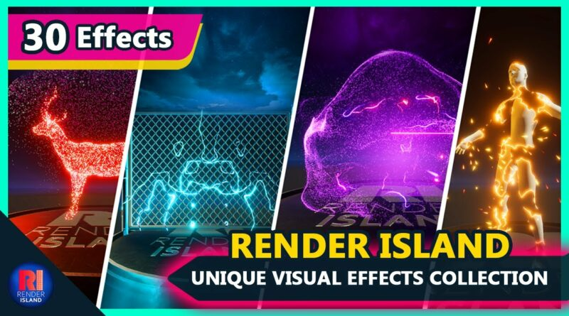 Unique Visual Effects (VFX) and Shader Collection