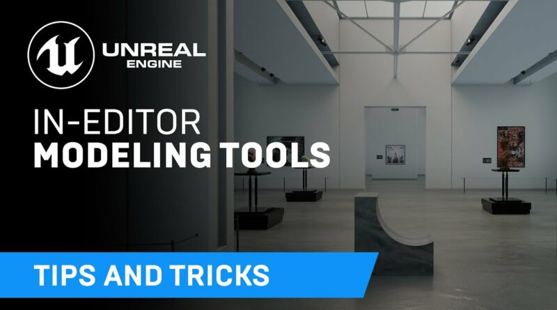 Getting started with in-editor modeling tools | Tips & Tricks | Unreal Engine