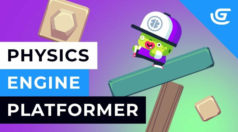 How to Make a Physics Engine Platformer Game in GDevelop - Tutorial