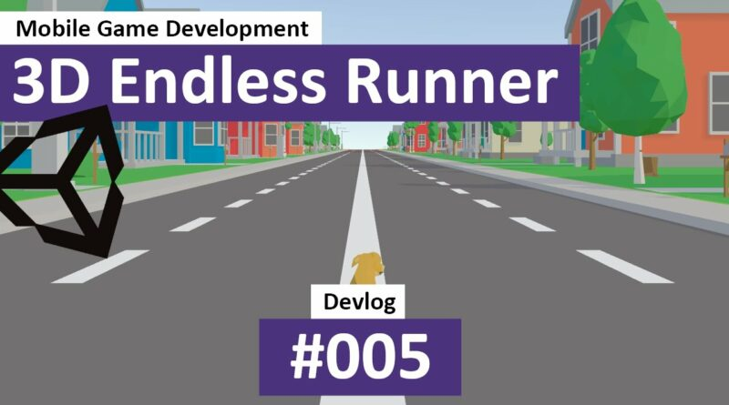 3D Endless Runner in Unity: #05 - Adding a Character & Animations, including a Toon Shader - Devlog