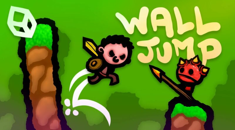 How to make a 2D Wall Jump & Wall Slide using UNITY & C#!