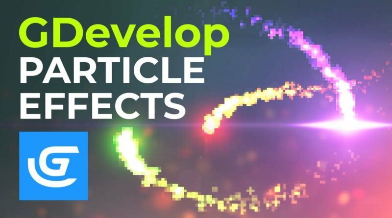 How to Create Fire Effect with Particle System in GDevelop Game Engine