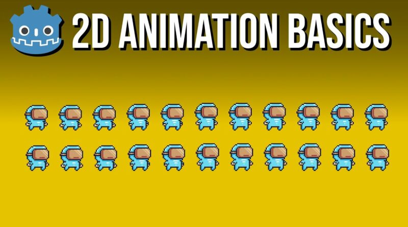 Switching 2D Character Animations in Code  ~ Godot 3.2 Tutorial