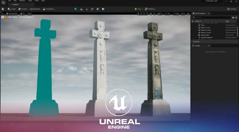Unreal Engine 5 Tutorial Interface and Importing Assets