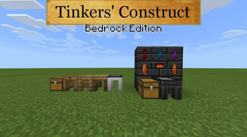 Minecraft | Tinkers' Construct: Bedrock Edition Demo
