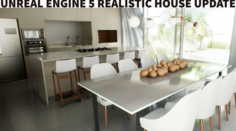 Unreal Engine 5 Realistic House