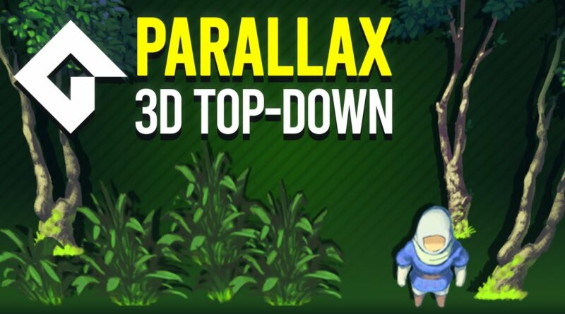 3D Effect (Parallax) in GMS2 | Top-Down Parallax with Shaders