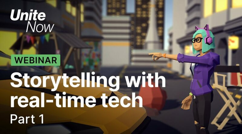Empowering storytellers with real-time technology   CG animation & film   Unite Now 2020