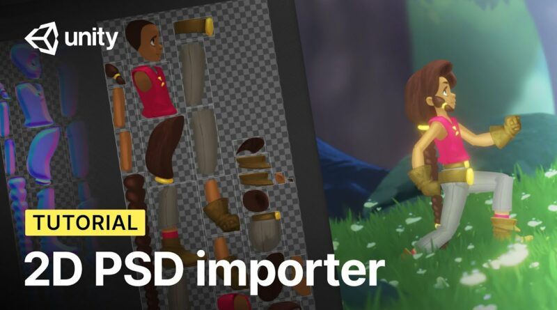 From Photoshop to Unity with PSD Importer