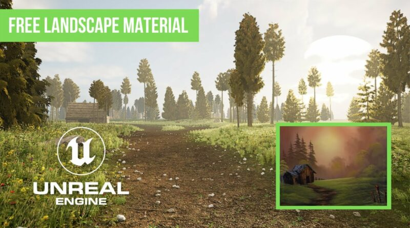 Learn how to create a Bob Ross scene in Unreal Engine 5