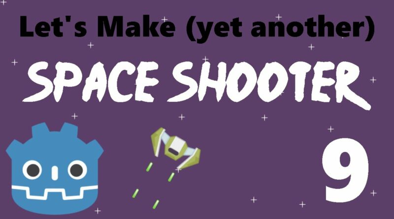 [9] Let's Make a Godot Space Shooter: Firing Cooldown