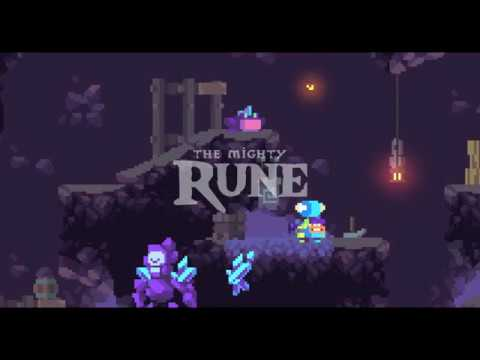 The Mighty Rune - pixel art indie game (made with GDevelop)