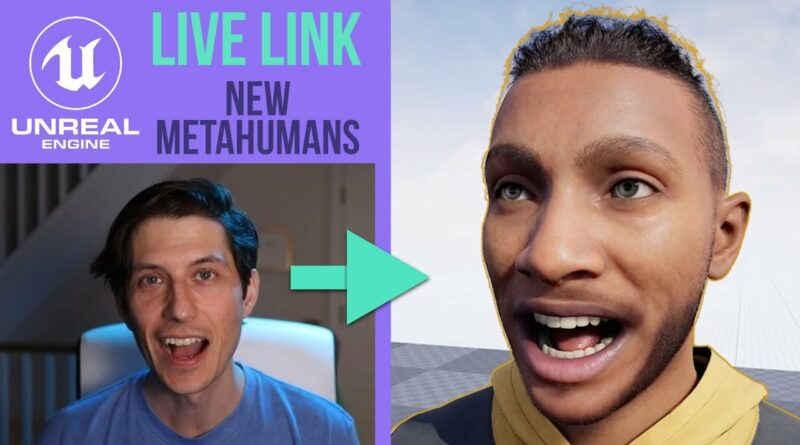 Live Link Face Tutorial with New Metahumans in Unreal Engine 4
