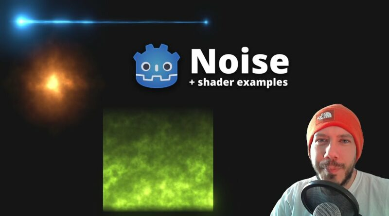 How to use Noise Textures and create simple Shaders in Godot