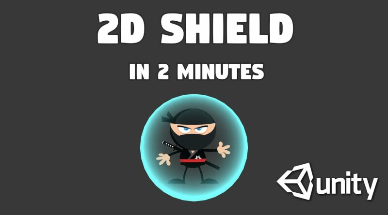 How to Create 2d Shield in Unity in 2 minutes | Shader Graph