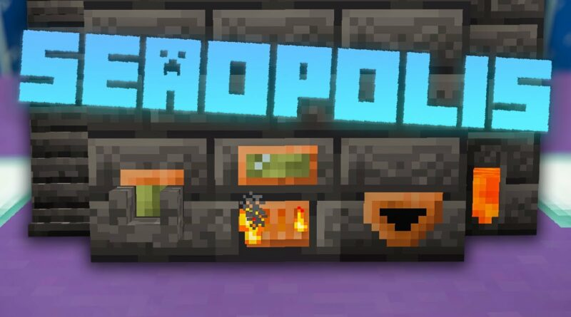 Seaopolis Minecraft Modpack EP4 Tinkers Smeltery Upgrade