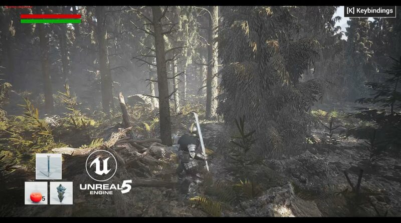 unreal engine 5 gameplay with nanite