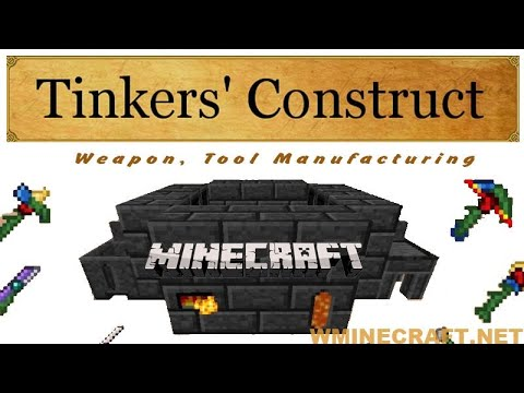 Tinkers' Construct Mod 1.16.5-1.12.2-1.11.2 (Weapon build, Repair and customize tools)