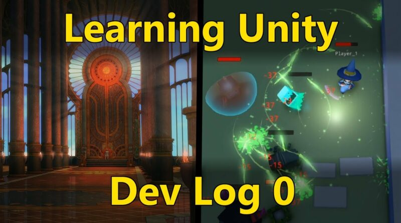 6 Months of Learning Game Development in Unity - Mage Time DevLog #1