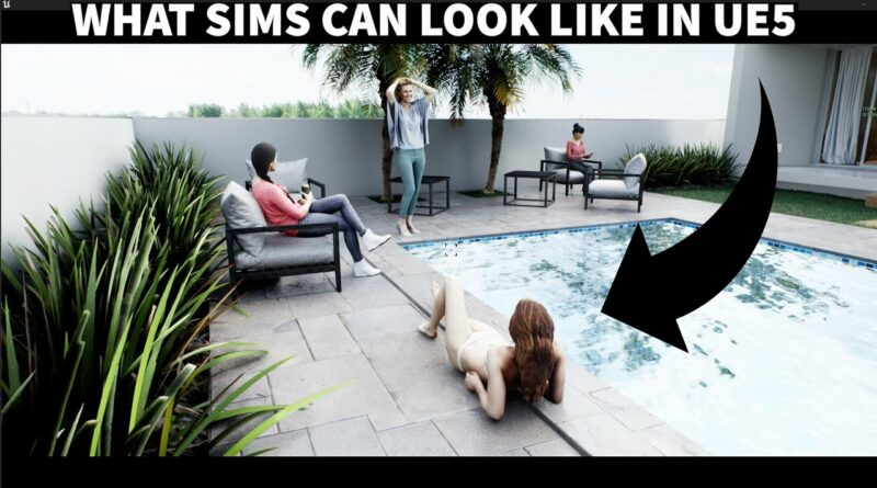 what sims can look like in unreal engine 5